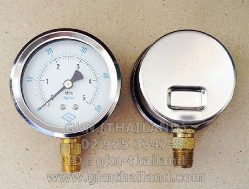 IK PRESSURE GAUGE 0-5 MPA & 0-50 KG/CM2